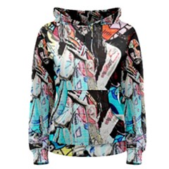 Graffiti Angel Women s Pullover Hoodie