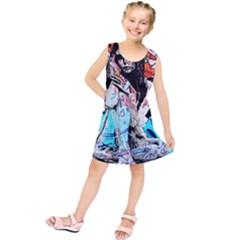 Graffiti angel Kids  Tunic Dress
