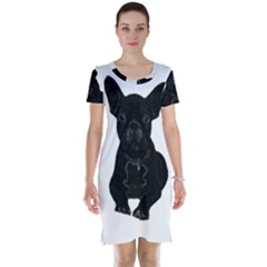 Bulldog Short Sleeve Nightdress