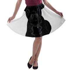 Bulldog A-line Skater Skirt