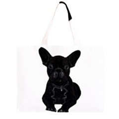 Bulldog Large Tote Bag