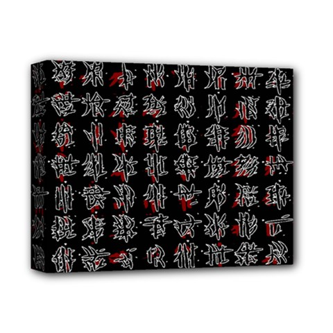 Chinese characters Deluxe Canvas 14  x 11