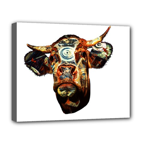 Artistic Cow Deluxe Canvas 20  x 16