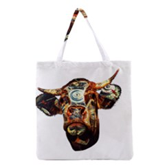 Artistic Cow Grocery Tote Bag
