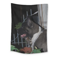 Akita second Medium Tapestry