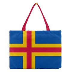 Flag of Aland Medium Tote Bag