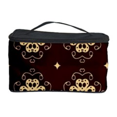 Seamless Ornament Symmetry Lines Cosmetic Storage Case