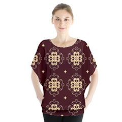 Seamless Ornament Symmetry Lines Blouse