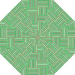 Geometric Pinstripes Shapes Hues Straight Umbrellas