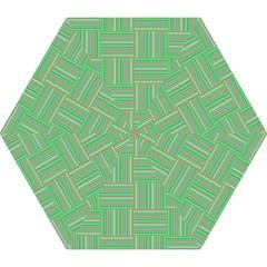 Geometric Pinstripes Shapes Hues Mini Folding Umbrellas