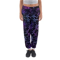 Retro Flower Pattern Design Batik Women s Jogger Sweatpants