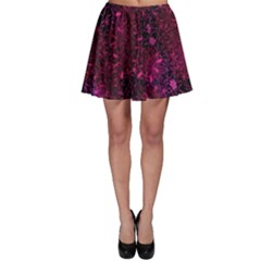 Retro Flower Pattern Design Batik Skater Skirt