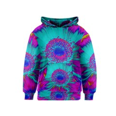 Retro Colorful Decoration Texture Kids  Pullover Hoodie