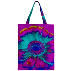 Retro Colorful Decoration Texture Zipper Classic Tote Bag