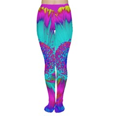Retro Colorful Decoration Texture Women s Tights