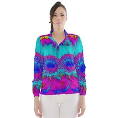 Retro Colorful Decoration Texture Wind Breaker (women)