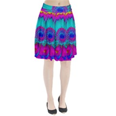 Retro Colorful Decoration Texture Pleated Skirt