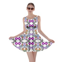 Floral Ornament Baby Girl Design Skater Dress