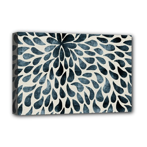 Abstract Flower Petals Floral Deluxe Canvas 18  X 12