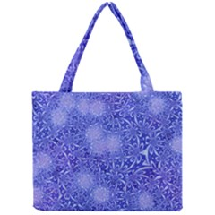 Retro Flower Pattern Design Batik Mini Tote Bag