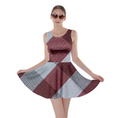 Textile Geometric Retro Pattern Skater Dress