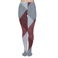 Textile Geometric Retro Pattern Women s Tights