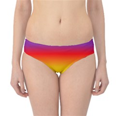 Rainbow Background Colourful Hipster Bikini Bottoms