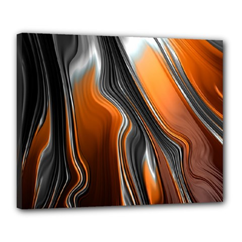 Fractal Structure Mathematics Canvas 20  x 16