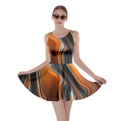 Fractal Structure Mathematics Skater Dress