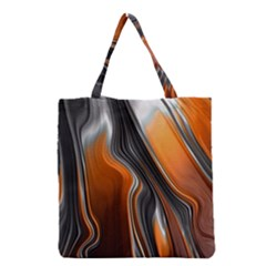 Fractal Structure Mathematics Grocery Tote Bag