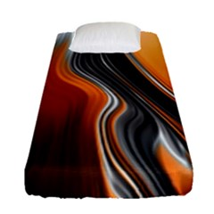 Fractal Structure Mathematics Fitted Sheet (single Size)