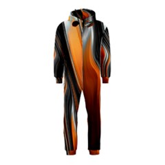 Fractal Structure Mathematics Hooded Jumpsuit (Kids)