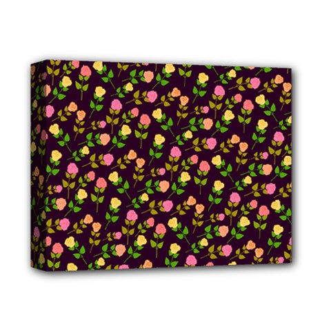 Flowers Roses Floral Flowery Deluxe Canvas 14  x 11