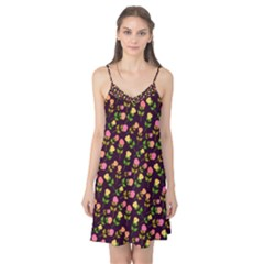 Flowers Roses Floral Flowery Camis Nightgown
