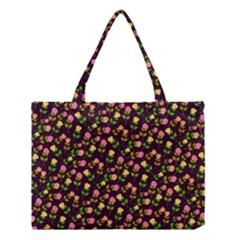 Flowers Roses Floral Flowery Medium Tote Bag