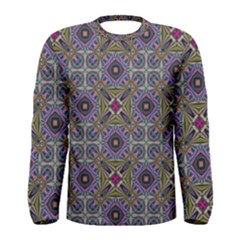 Vintage Abstract Unique Original Men s Long Sleeve Tee
