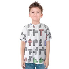 Hexominos Kids  Cotton Tee