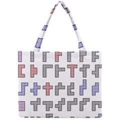 Hexominos Mini Tote Bag