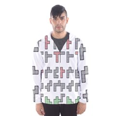 Hexominos Hooded Wind Breaker (men)
