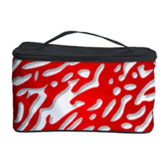 Heart Design Love Red Cosmetic Storage Case
