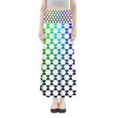 Half Circle Maxi Skirts
