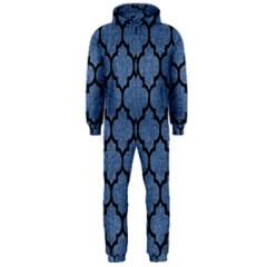 TIL1 BK-MRBL BL-DENM (R) Hooded Jumpsuit (Men)