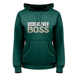 Undercover Boss   Women s Pullover Hoodie