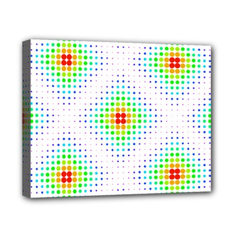 Color Square Canvas 10  x 8