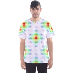 Color Square Men s Sport Mesh Tee