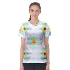 Color Square Women s Sport Mesh Tee