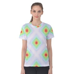 Color Square Women s Cotton Tee