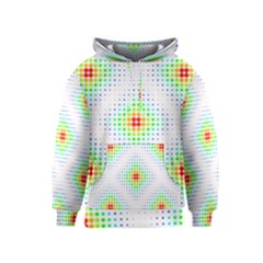 Color Square Kids  Pullover Hoodie