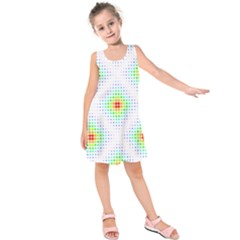 Color Square Kids  Sleeveless Dress