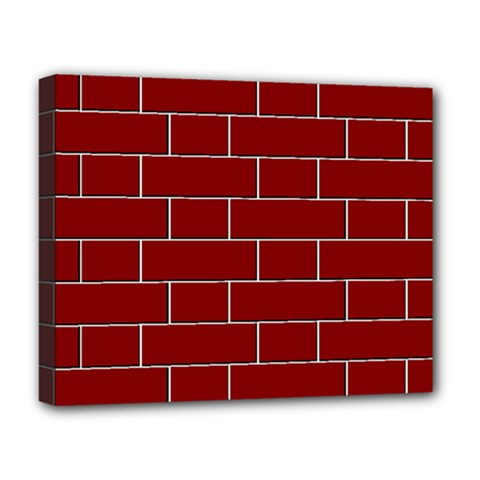 Flemish Bond Deluxe Canvas 20  x 16